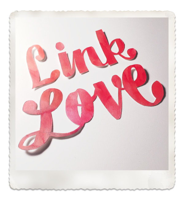 Link Love: Just the links ma'am!